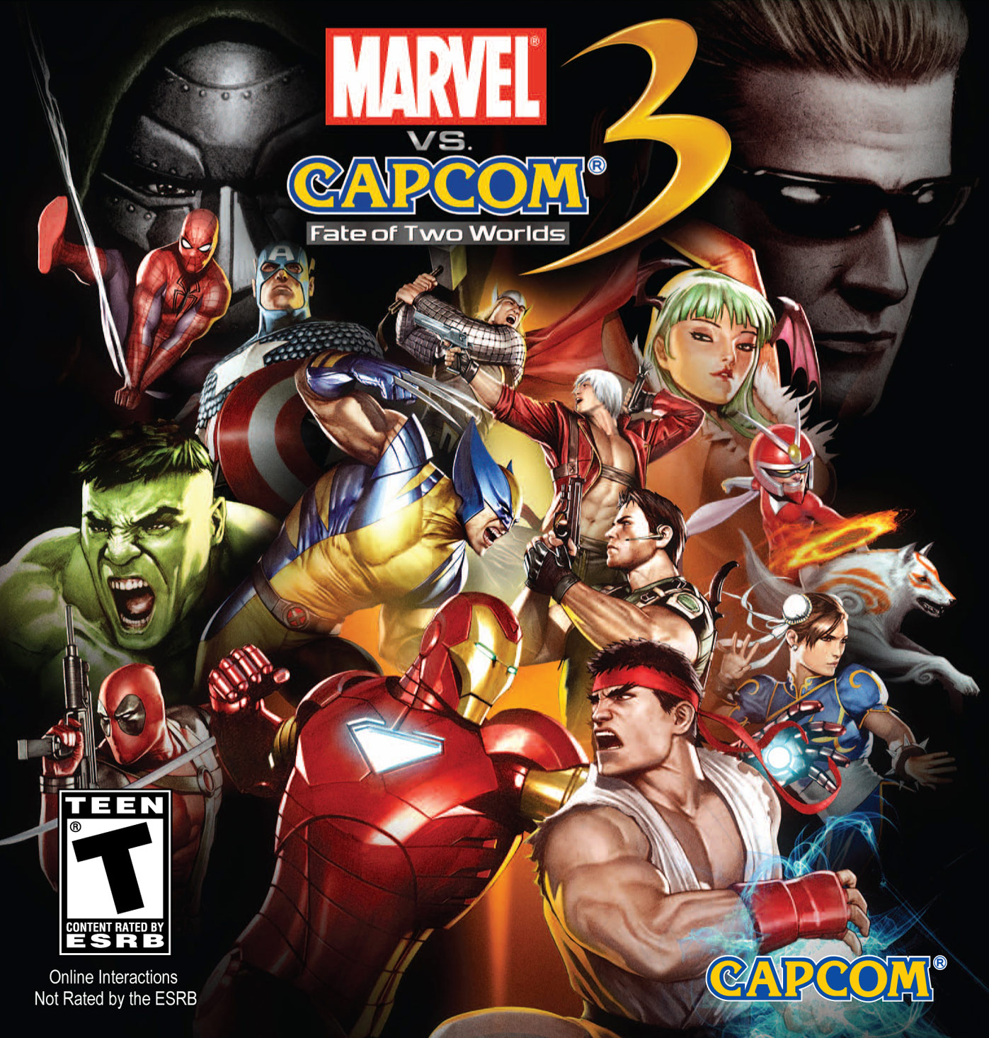 Marvel vs. Capcom 3 Highly Compressed Full Cracked ...