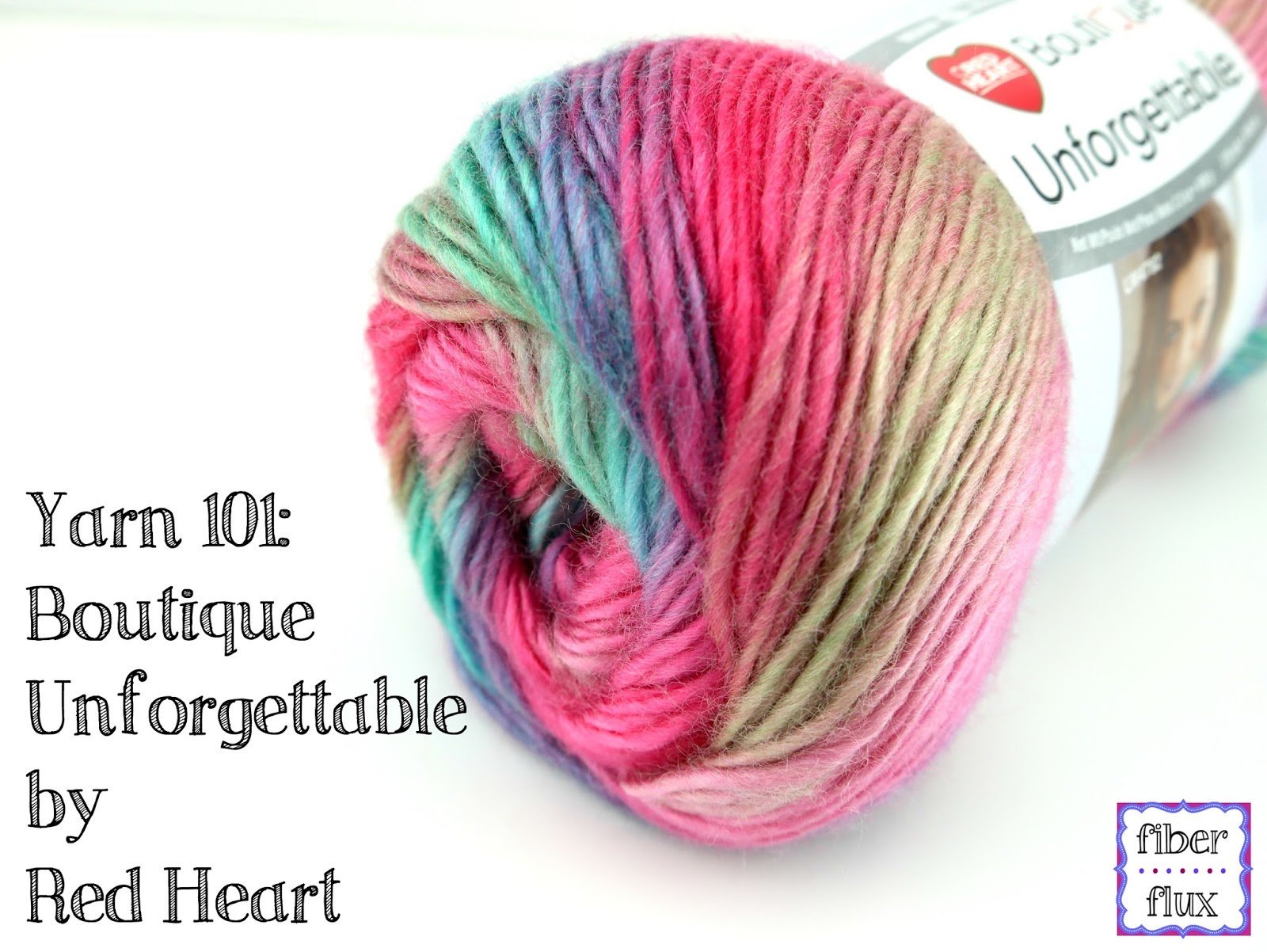 Knitting Patterns Using Red Heart Boutique Unforgettable Yarn : Fiber Flux: Yarn 101: Boutique Unforgettable By Red Heart
