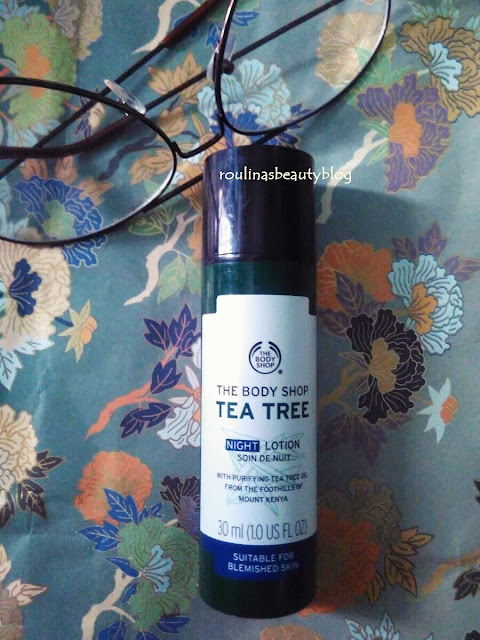 The Body Shop Tea Tree Night Lotion Soin The Nuit