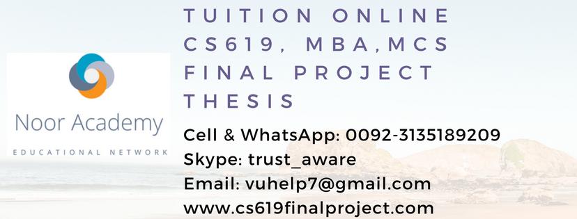 Vu Assignment Solution: CS609 – System Programming