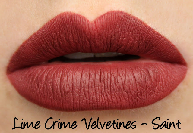 Lime Crime True Love Velvetines Set - Saint Swatches & Review