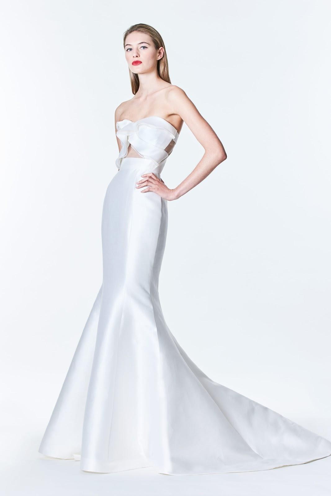 Wedding Dresses   Carolina Herrera bridal Fall 2017   Cool Chic ...