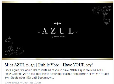 Miss Azul 2015 Public Vote - Have Your Say!