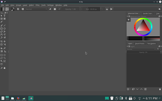 Krita Digital painting tool