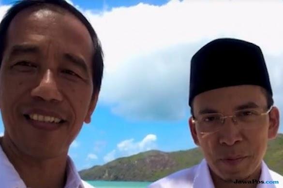 Didukung TGB Jadi Presiden Dua Periode, Jokowi Bilang Begini