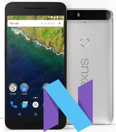 Google Nexus 6P Nougat 7.1.1 Official Firmware