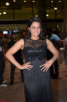 Wamiqa Gabbi in a sleeveless Black Designer Transparent Gown at 64th Jio Filmfare Awards South ~  Exclusive 067.JPG