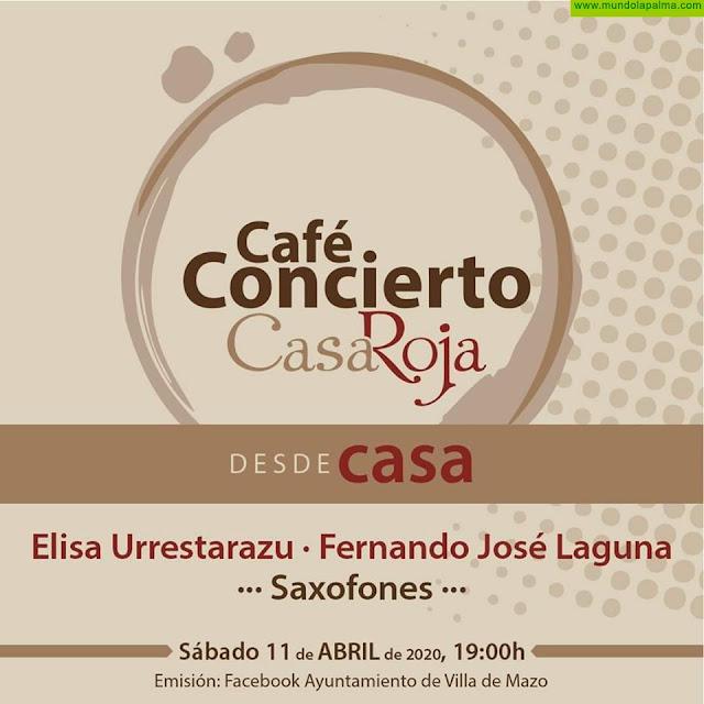 Café Concierto Sábado 11 de Abril por Facebook