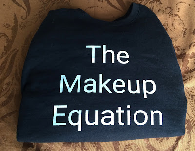 the makeup equation sweatshirt from zazzle.com