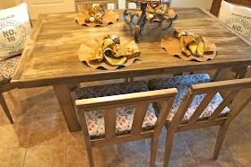 Pine Creek Style Danish Table Redo