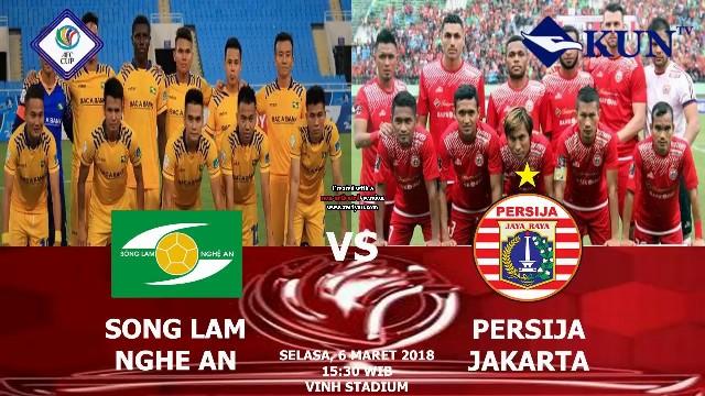 Prediksi Song Lam vs Persija Jakarta - Piala AFC Selasa 6 Maret 2018