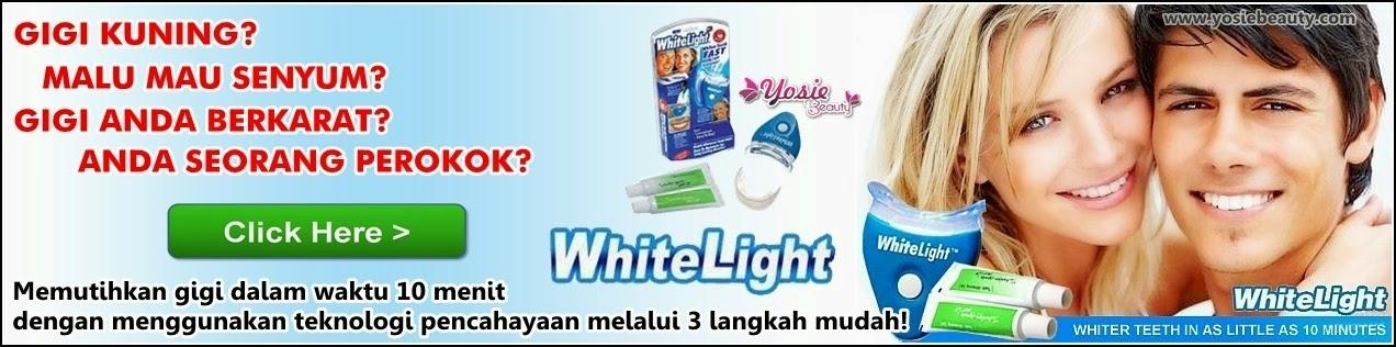 Whitelight Pemutih Gigi Praktis