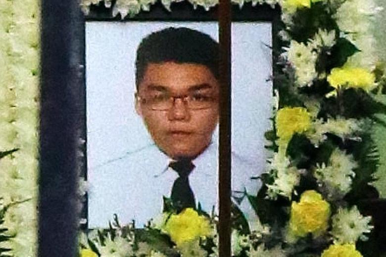 Tan Yao Bin, 15, died after he was electrocuted while showering.