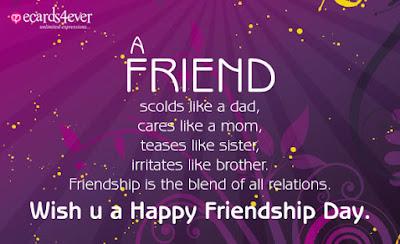 Friendship Day English SMS