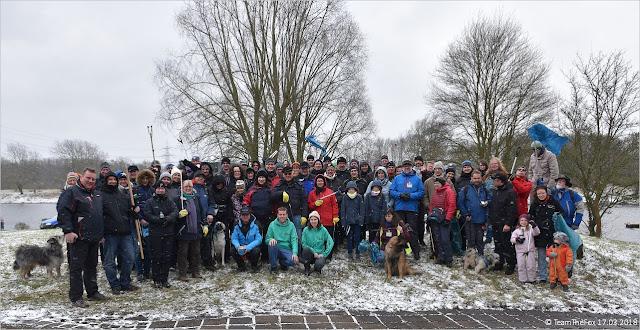 Gruppenfoto 5 Jahre Frühjahrsputz am Kemnader See 2018