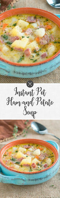 ínstant Pot Ham And Potato Soup