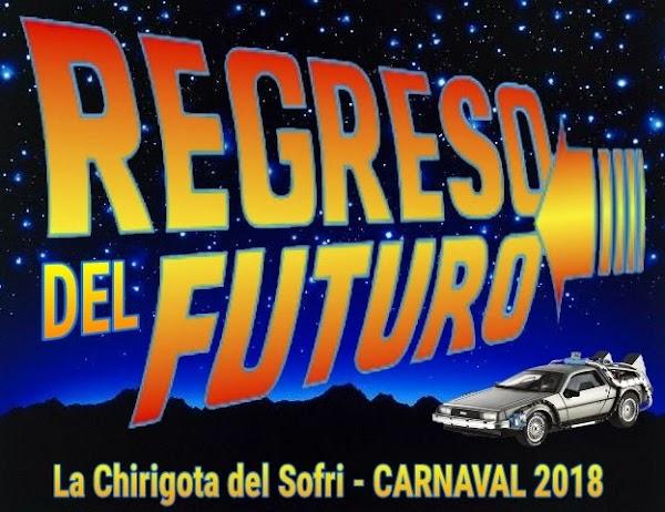 La chirigota de Conil en 2017 'Los Once' sera para el COAC 2018 'Regreso al futuro'