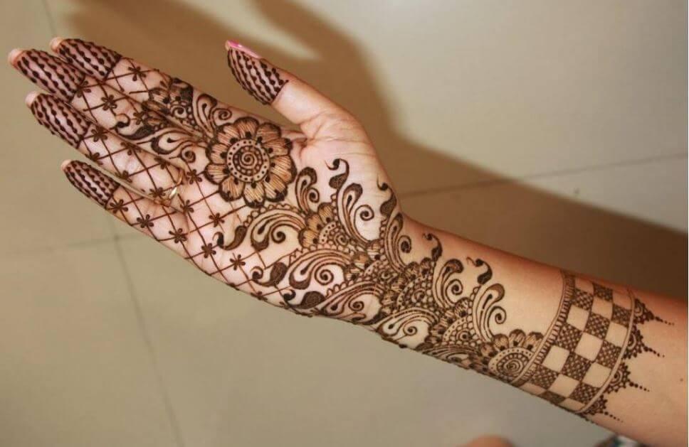 Full Arm Mehndi Designs : Mehndi designs images full hand elegant easy arabic simple
