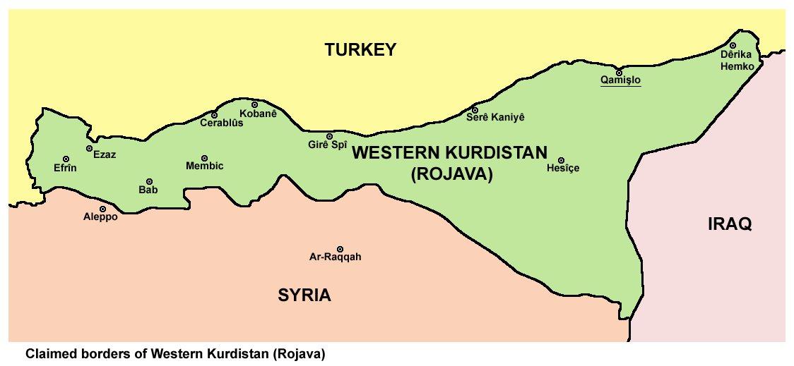 Και εγεννήθη η Δημοκρατική Ομοσπονδία Βόρειας Συρίας - Δυτικού Κουρδιστάν - Infognomon Politics