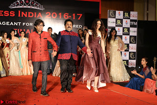 John Aham, Bhagyashree, Subhash Ghai and Amyra Dastur Attends Princess India 2016 17 Part2 029.JPG