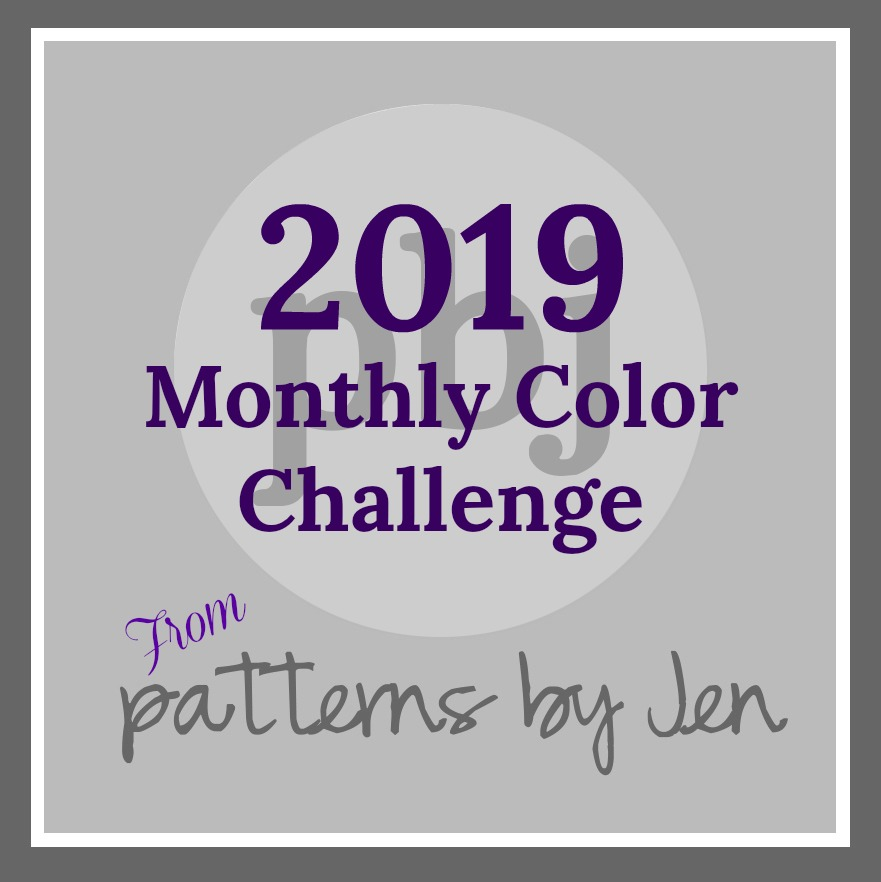 2019 Monthly Color Challenge
