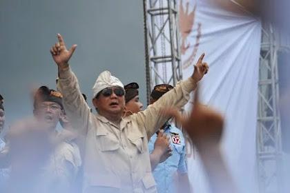 Prabowo Tegur Pendukungnya yang Menjelekkan Jokowi