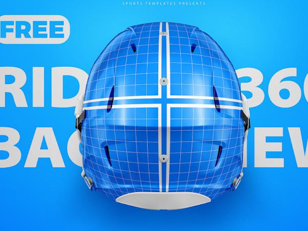 Download PSD Football Helmet Mockup Free