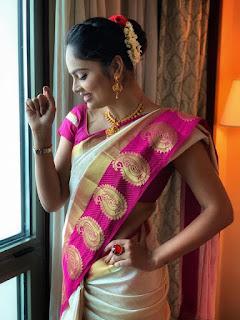 Nandita Swetha Latest Traditional Look Photos