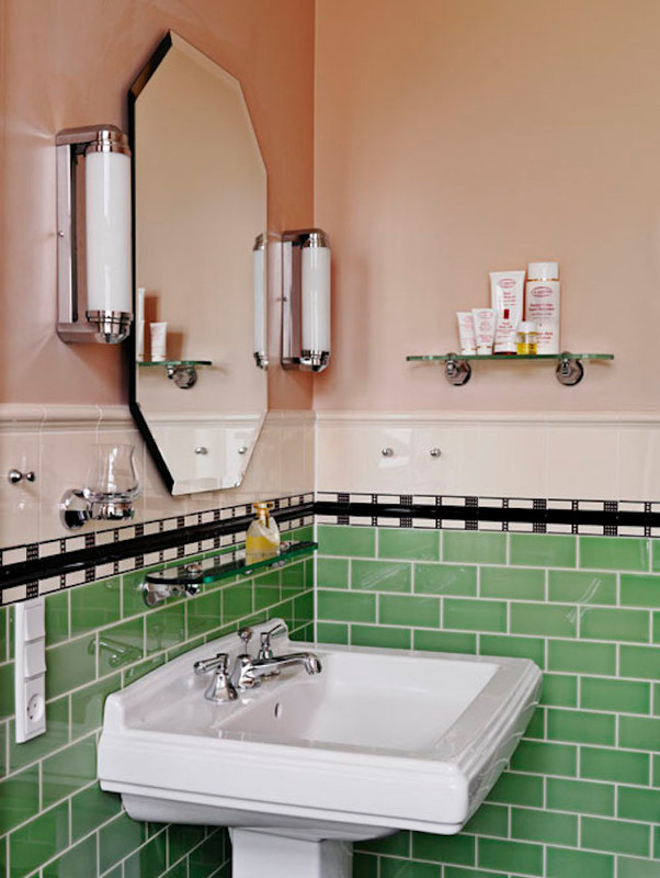 Mix and Match bathroom