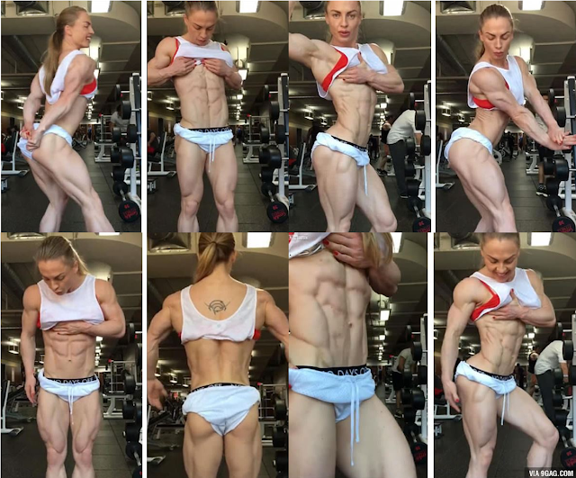 UNBELIEVABLE: This Female Bodybuilder Has 0% Body Fat Causing People To Question Her Health!