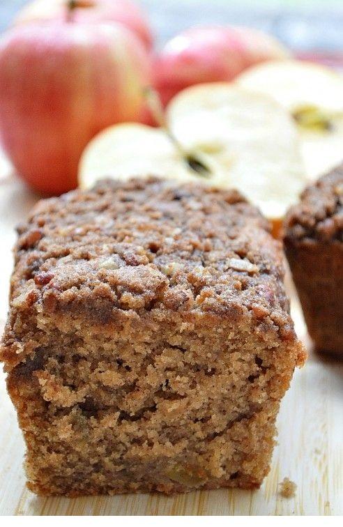 Gluten Free Baked Apple Cinnamon Bread