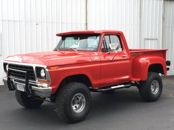 1978 F150 4x4 Short Bed Truck
