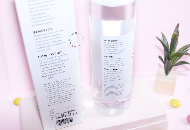 Review Luxcrime Advance Formula Cleansing Oil