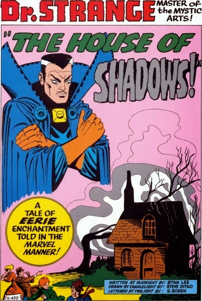 Strange Tales #120, Dr Strange and the House of Shadows