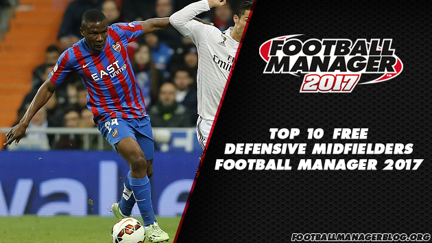Top 10 Free Defensive Midfielders in Football Manager 2017