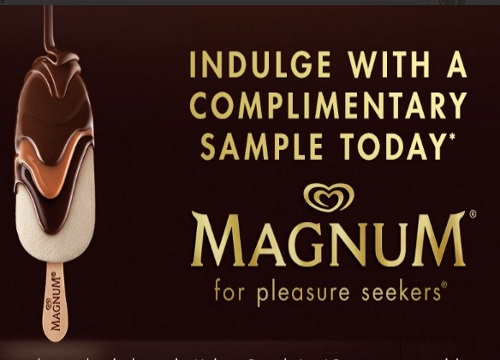 Magnum Free Sample Ice Cream