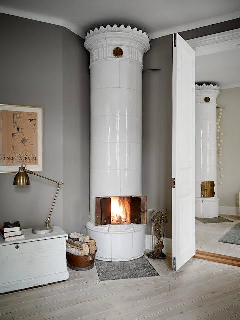 Cute and comfortable scandinavian home