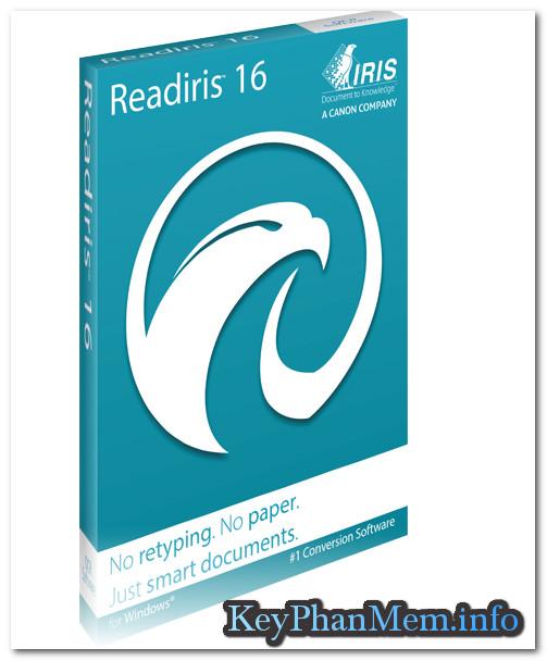 Download Readiris Pro 16.0.2 Build 11398 Full Key, Phần mềm nhận dạng văn bản chuyên nghiệp