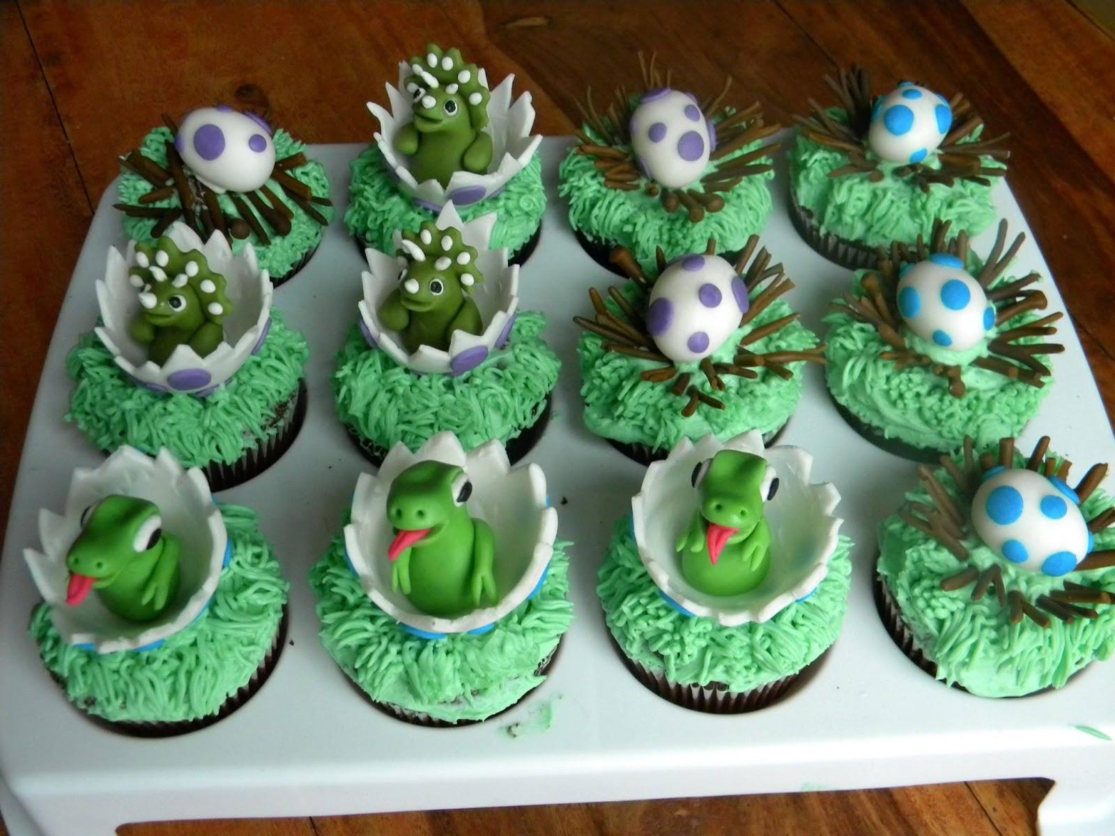 Baby Dinosaur Birthday Cakes
