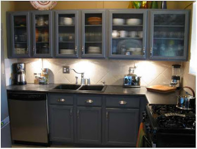 desain dapur sederhana tapi elegan