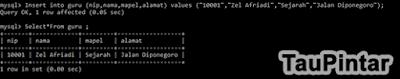 Membuat Database dan Tabel