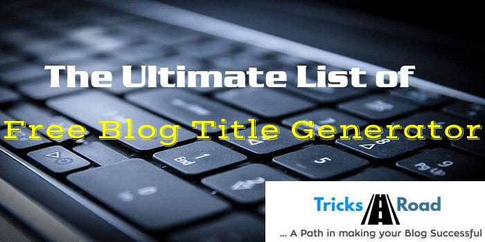 free-blog-post-title-generator