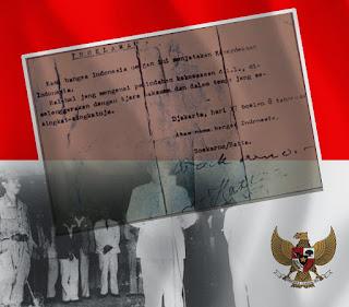 Sejarah Pembacaan Proklamasi Pukul 10.00 Pagi