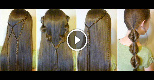Learn, How To Create 7 Quick & Easy Hairstyles, See Video Tutorial!