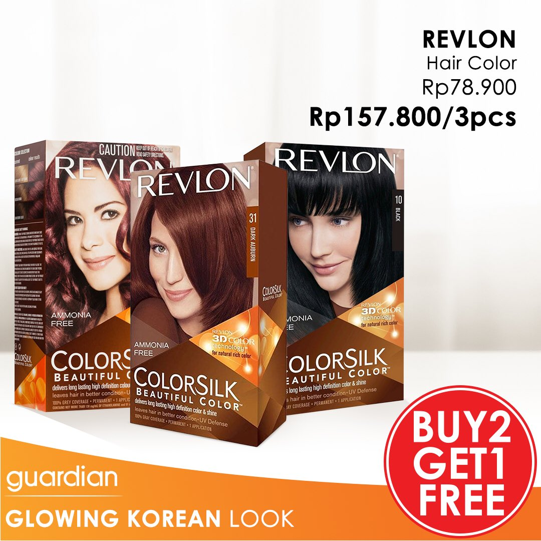 #Guardian - #Promo Diskon Up to 30% & Buy 2 Get 1 Free Aneka Pewarna Rambut (s.d 20 Feb 2019)