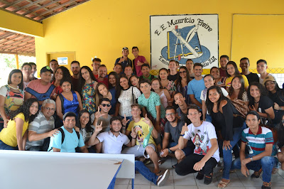 Resultado de imagem para fotos de alunos do mauricio freire enem 2018
