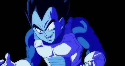 Vegeta contiene su rabia, tras lo que acaba de decir a Trunks
