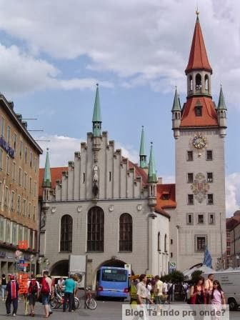 Altes Rathaus em Munique