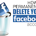 How to Remove A Facebook Account