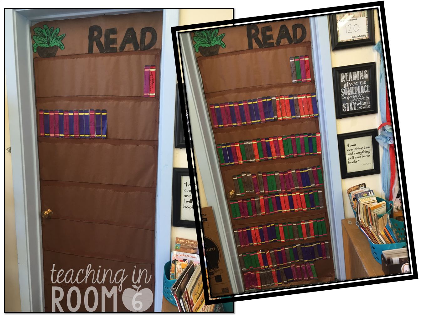 "Read Book Shelf reading ""bookshelf"" - teaching in room 6"